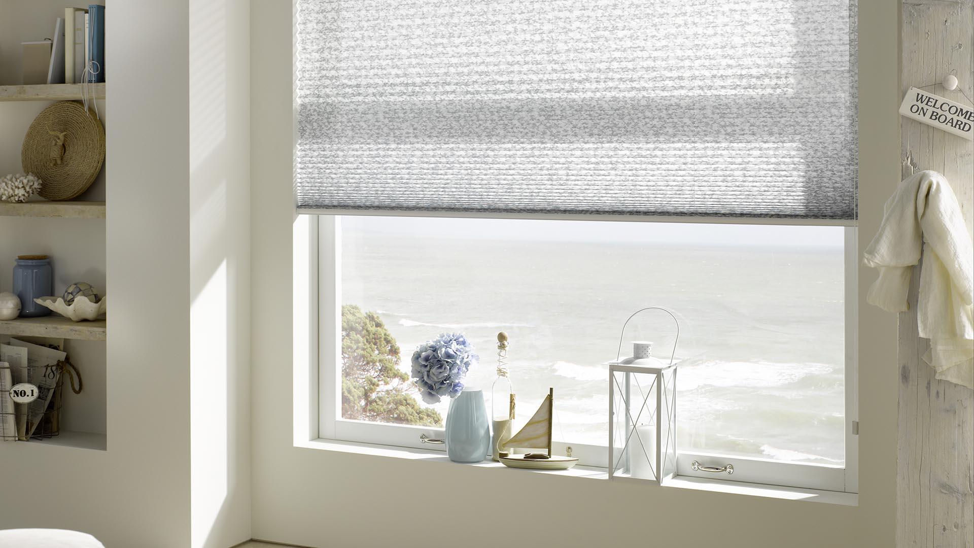 Plissees für breite Fenster